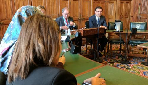 AKPM Türkiye Delegasyonu Başkanı Küçükcan Londra'da