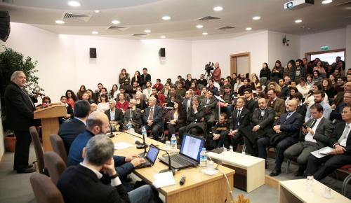 Anadolu'da Kültürlerarası Karşılaşmalar paneli