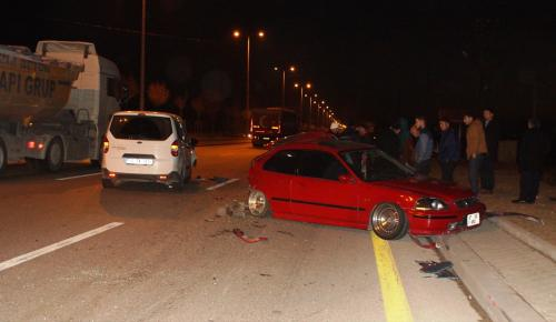 Ankara'da trafik kazası: 3 yaralı