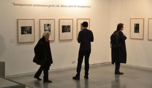 Arno Fischer'in fotoğraf sergisi açıldı