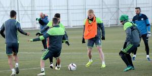 Atiker Konyaspor'da Gent maçı hazırlıkları