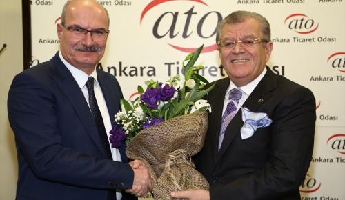 ATO'da yeni yönetim göreve başladı