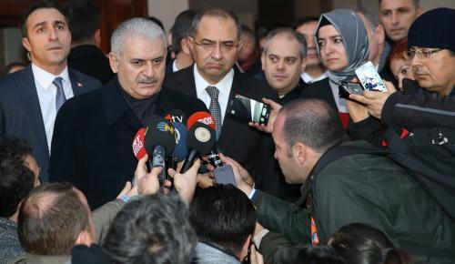 Başbakan Yıldırım Zonguldak'ta