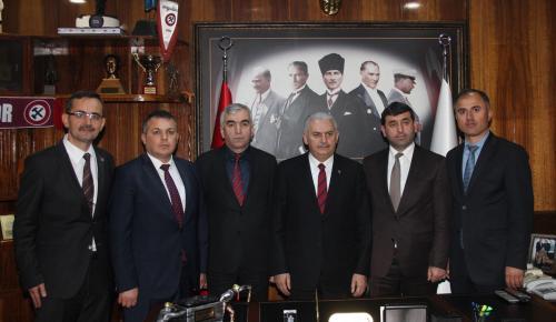 Başbakan Yıldırım'ın GMİS ziyareti