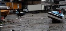 Batı Karadeniz'de fırtınada bazı tekneler zarar gördü