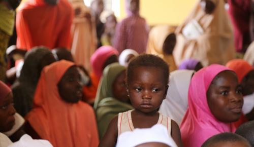 Belçikalı Türklerden Nijerya'daki camiye yardım