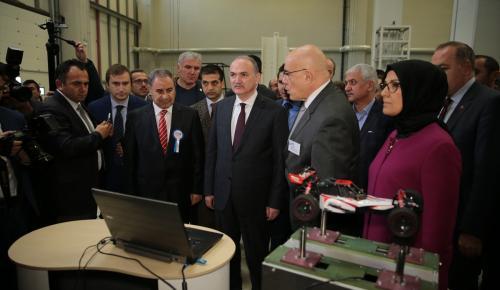 Bilim, Sanayi ve Teknoloji Bakanı Özlü Kocaeli'de