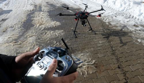 Bitlis'e termal kameralı drone