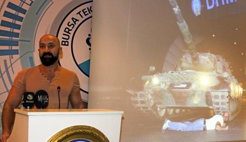 """Bursa'da """"Kahramanlar Anlatıyor"""" programı"""