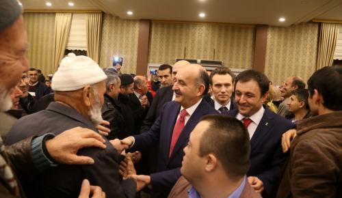 Çalışma ve Sosyal Güvenlik Bakanı Müezzinoğlu, Isparta'da