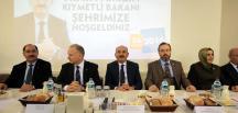 Çalışma ve Sosyal Güvenlik Bakanı Müezzinoğlu, Tekirdağ'da