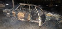 Çankırı'da otomobil yangını