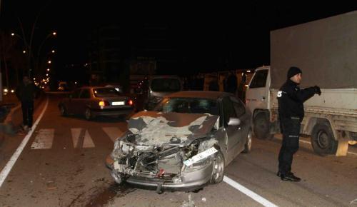 Çankırı'da zincirleme trafik kazası: 7 yaralı