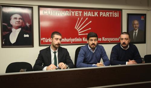 CHP Gençlik Kolları Genel Başkanı Yılmaz:
