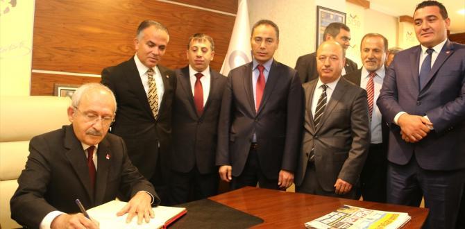 CHP Genel Başkanı Kılıçdaroğlu Sivas'ta: