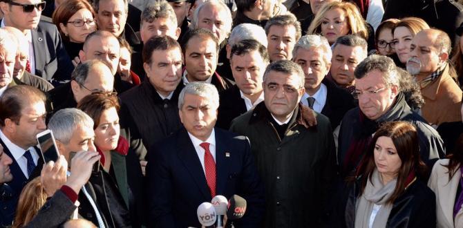 CHP İstanbul İl Başkanı Canpolat, ifade verdi