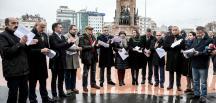 CHP'den Taksim Cumhuriyet Anıtı önünde anayasa açıklaması