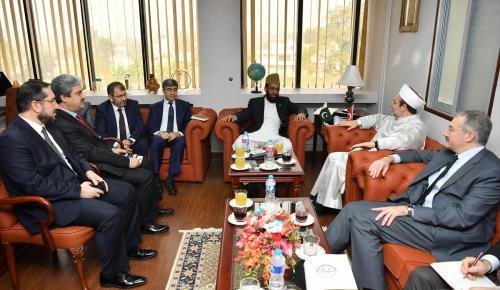 Diyanet İşleri Başkanı Görmez Pakistan'da