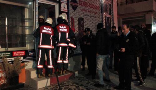 Elazığ'da iş yeri yangını