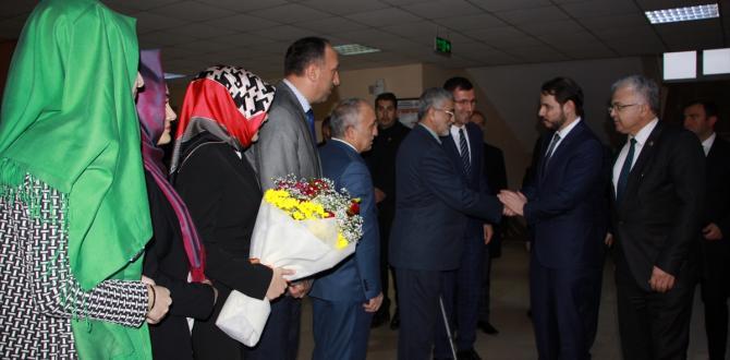 Enerji ve Tabii Kaynaklar Bakanı Albayrak, Rize'de