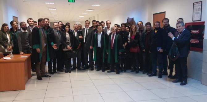 Eski Antalya Baro Başkanı Bacanlı beraat etti