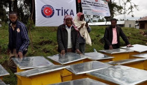 Etiyopyalı yetim ailelerin yüzü Türkiye sayesinde güldü