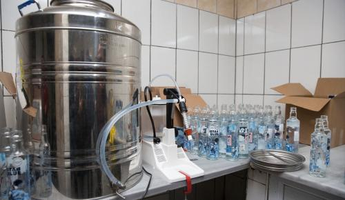 Eyüp'te sahte içki operasyonu