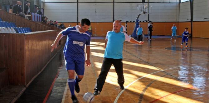 Fethiye protokolü engellilerle futbol maçında buluştu