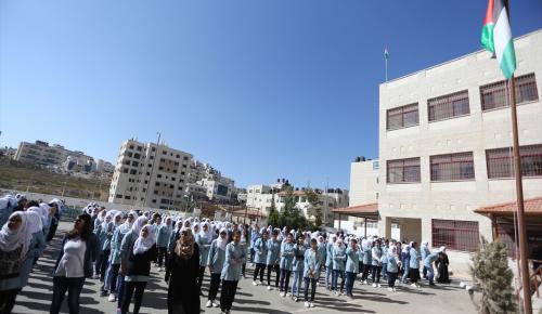Filistinli kız öğrencilerin Türkçe sevgisi