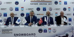 FIS Snowboard Dünya Kupası Erciyes'te yapılacak