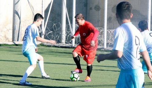 """""""Futbolun Efsaneleri Genç Hükümlülerle Buluşuyor Projesi"""""""