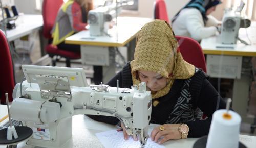 Giresun ve Ordu'da kadınlar tekstil sektörüne hazırlanıyor