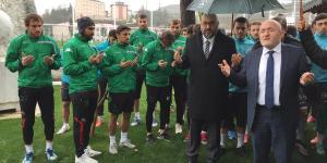 Giresunspor Kulübü Başkanı Bozbağ: