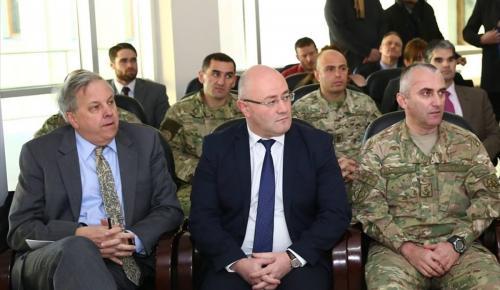 Gürcistan ve ABD'den ortak askeri eğitim