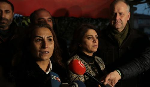 HDP Eş Genel Başkanı Yüksekdağ'ın tutuklanması