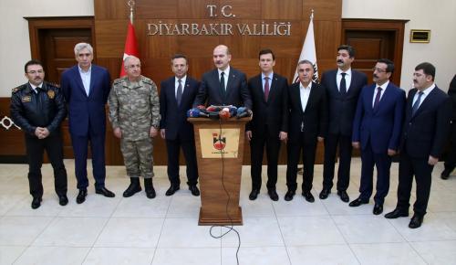 İçişleri Bakanı Soylu, Diyarbakır'da (1)