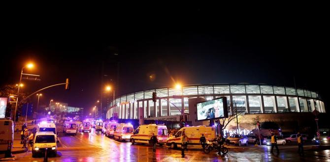 İstanbul Beşiktaş'ta patlama! Çok sayıda yaralı var