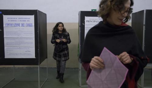 İtalya'daki referandum