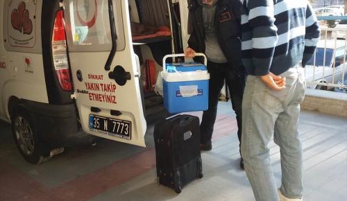 İzmir'de organ bağışı