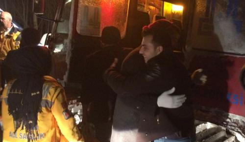 Kar ve tipi yüzünden mahsur kalan 10 kişi kurtarıldı
