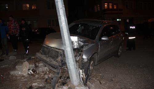 Kars'ta zincirleme trafik kazası