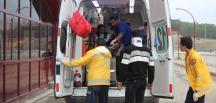 GÜNCELLEME – Kayseri'de 2 yolcu otobüsü devrildi