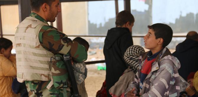 Kerkük'ün Havice ilçesinden sivillerin kaçışı devam ediyor