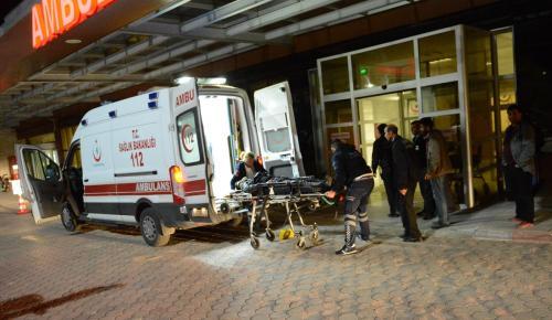 Kilis'te trafik kazası: 2 yaralı