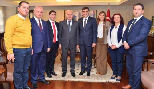 Kosova Cumhuriyeti Kamu Yönetimi Bakanı Yağcılar Samsun'da