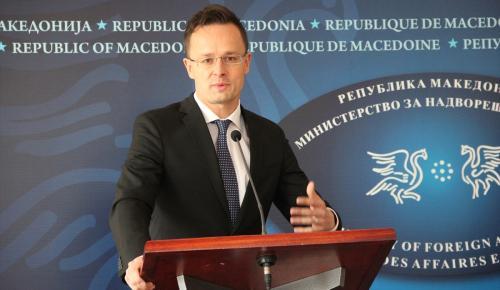 Macaristan Dışişleri Bakanı Szijjarto: