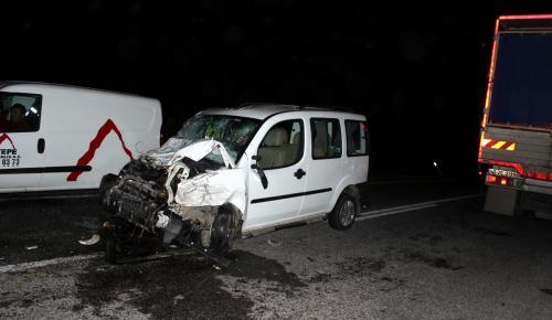 Manisa'da trafik kazası: 21 yaralı