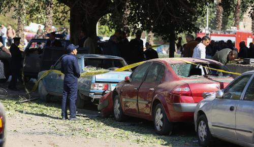 Mısır'da emniyet noktasına bombalı saldırı: 6 ölü