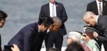 Obama ve Abe'den Pearl Harbor'da tarihi buluşma