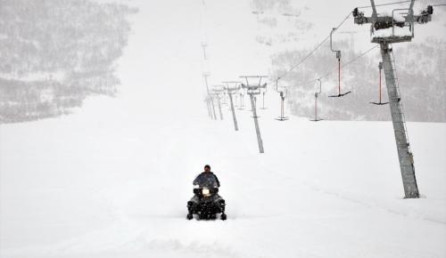 Ovacık'ta kayak sezonu erken başlayacak